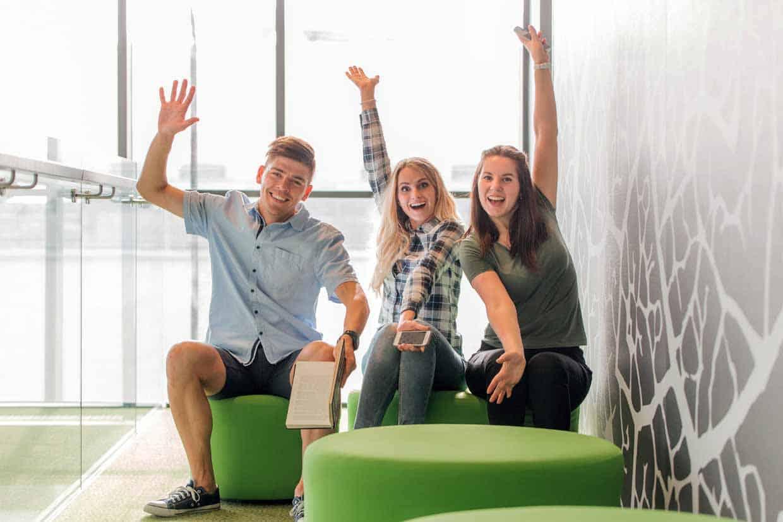 LSBR, UK University Progression with happy students